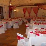 Deco rouge et blanc mariage