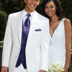 Costume homme blanc mariage