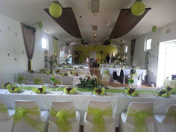 Deco fete mariage le mariage - Decoration des salles des fetes ...