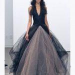 Robe de mariee noire