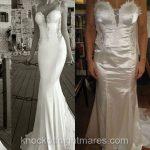 Achat de robe de mariée