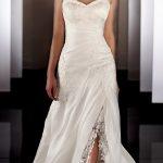 Modèle de robe de mariée simple