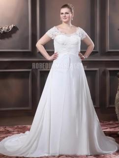 Robe de mari e grande taille le mariage for Robes pour les femmes de taille plus pour les mariages