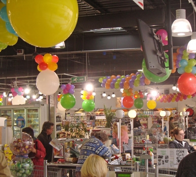 Boutique deco anniversaire le mariage for Decoration pour magasin