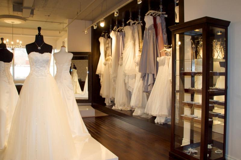 Robe de soiree pour mariage a montreal