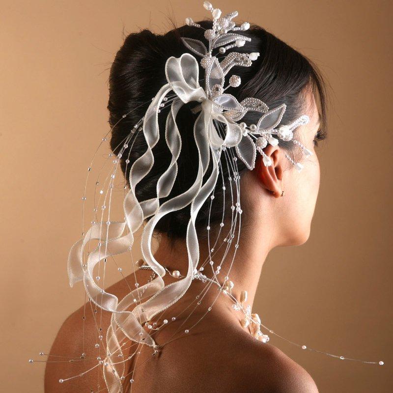 Accessoire de cheveux pour mariage pas cher - Accessoires patisserie pas cher ...
