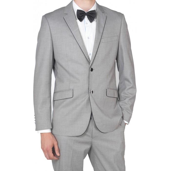 Costume homme gris clair le mariage - Costume homme gris clair ...
