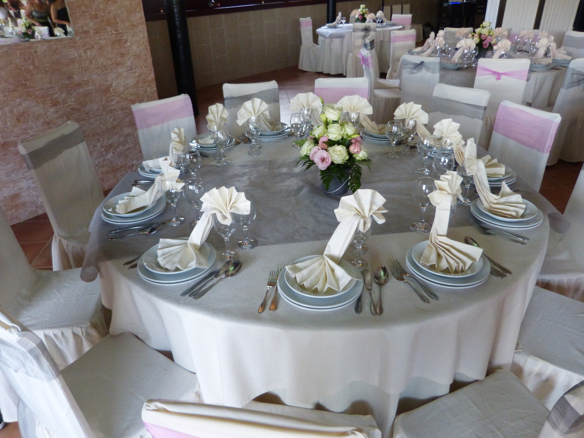 decoration mariage de table