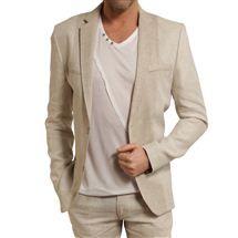Je veux trouver mon costume de mariage pas cher et les mieux notés du web  Costume en lin pour homme 586f14399db
