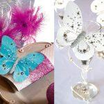 Papillon deco mariage