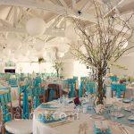 Deco turquoise mariage