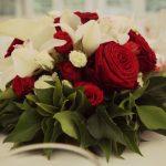 Deco mariage blanc et rouge