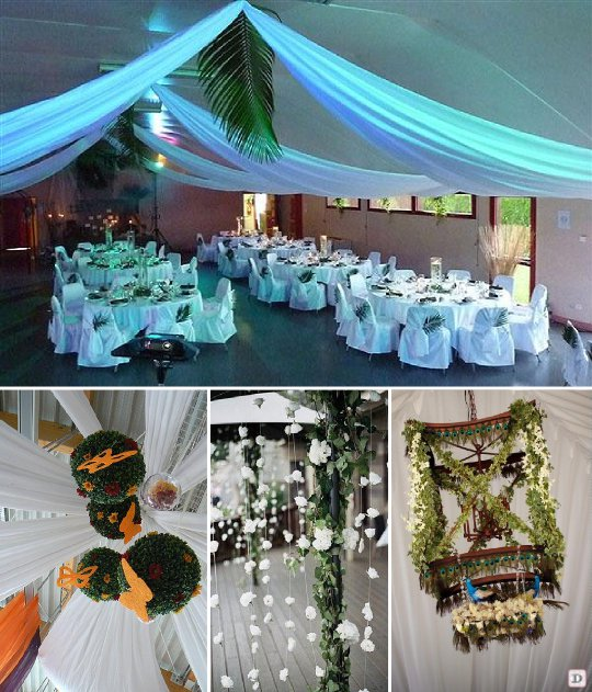 Idee deco salle de mariage le mariage for Idee deco salle