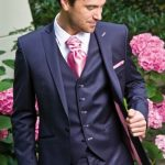 Costume bleu mariage homme