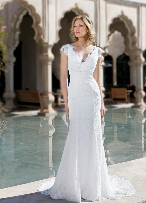 Robe de mari e pour remariage le mariage for Robes violettes plus la taille pour les mariages