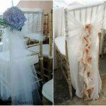 Décoration de chaise pour mariage