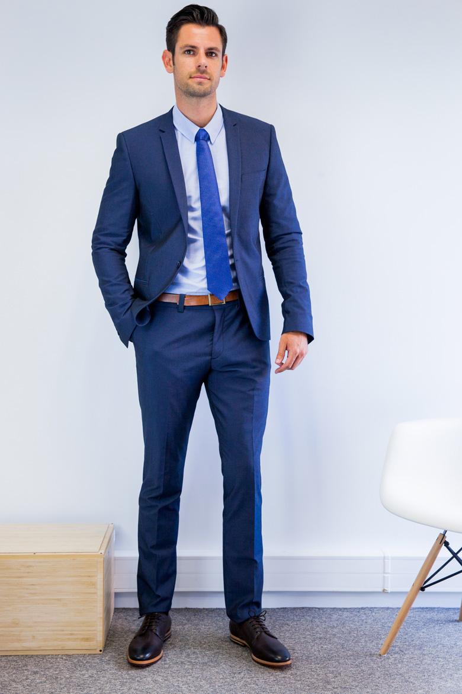 costume bleu nuit homme le mariage. Black Bedroom Furniture Sets. Home Design Ideas