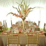 Decoration mariage doré