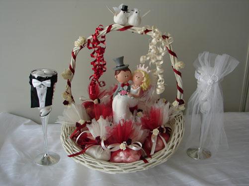 Decoration corbeille mariage le mariage for Accessoire deco pas cher