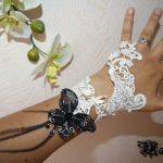 Mitaine ivoire mariage