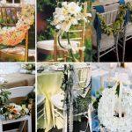 Décoration chaise pour mariage