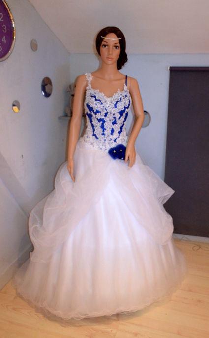 Robe mari e pas blanche le mariage for Petite occasion habille les mariages