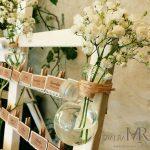 Decoration salle de mariage champetre