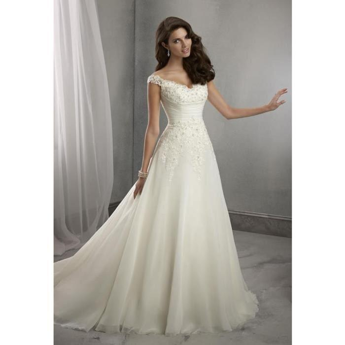 robe blanche mariee le mariage