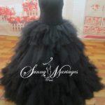 Robe de mariée noire pas cher