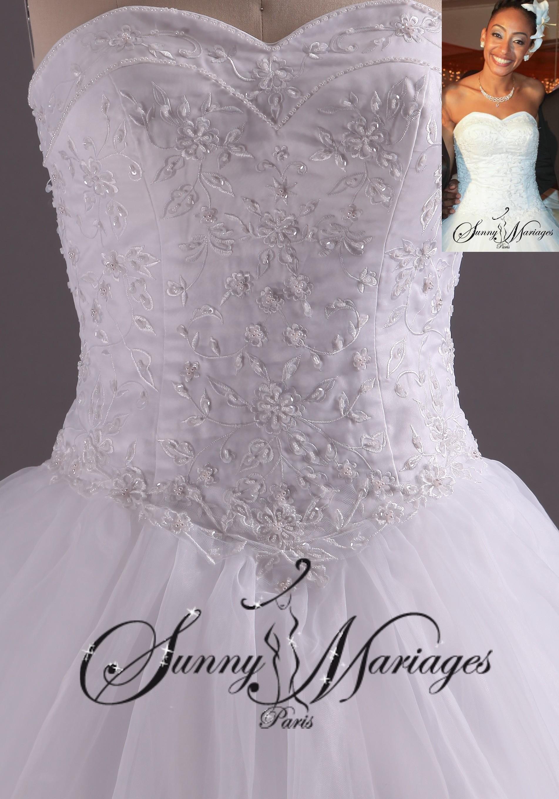 robe blanche de mariee le mariage. Black Bedroom Furniture Sets. Home Design Ideas