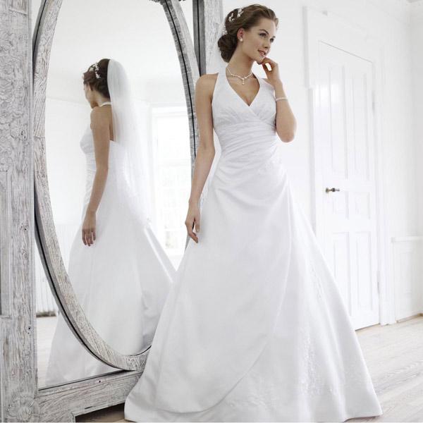 Robe blanche du mariage