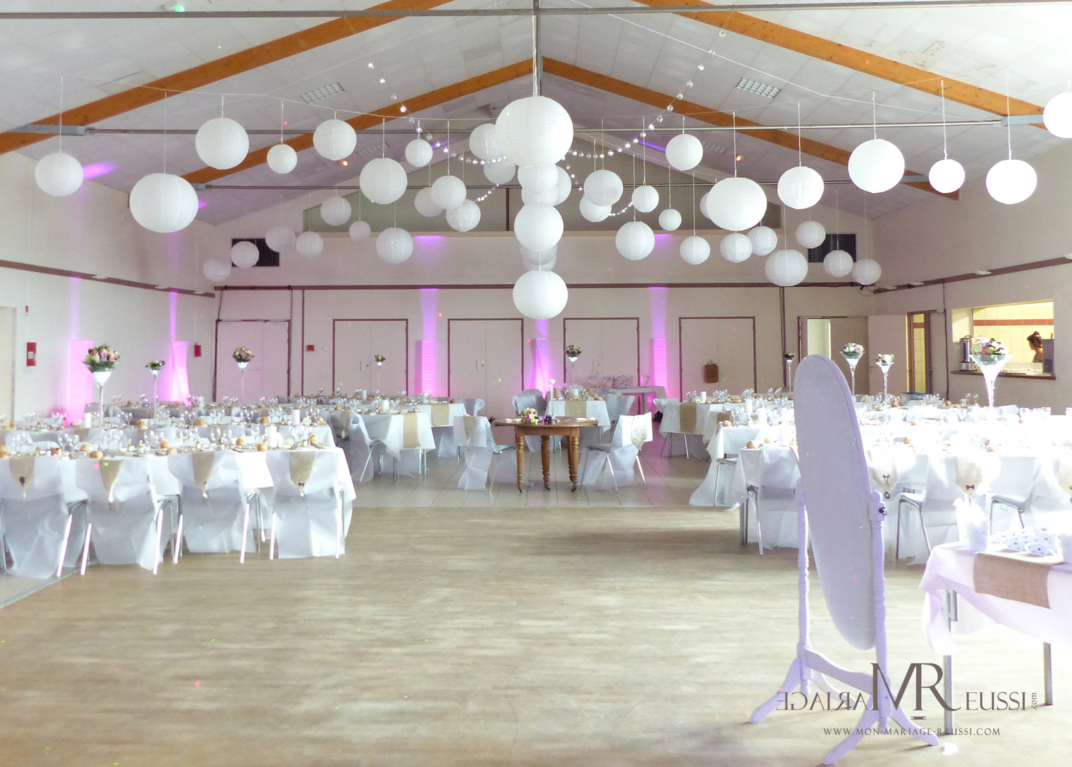 Prix decoration salle mariage le mariage for Decoration salle mariage