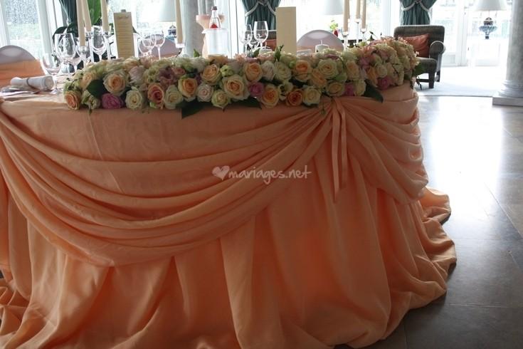 Decoration Table D Honneur Mariage : Table des mariés décoration le mariage