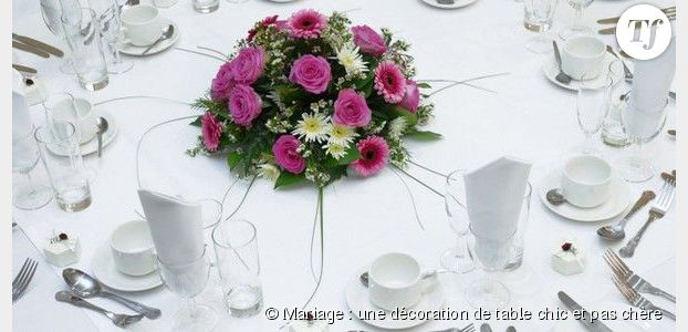 decoration table mariage pas cher petit prix. Black Bedroom Furniture Sets. Home Design Ideas