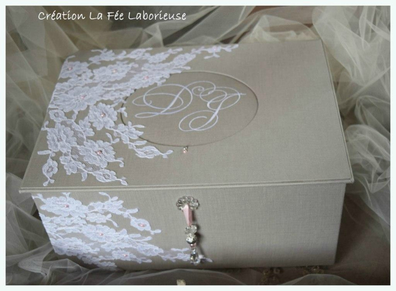 urne mariage personnalis e le mariage. Black Bedroom Furniture Sets. Home Design Ideas