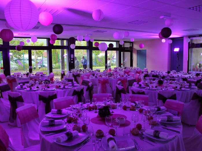 Decoration salle mariage le mariage for Decoration salle mariage