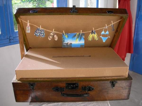 boite urne anniversaire le mariage. Black Bedroom Furniture Sets. Home Design Ideas