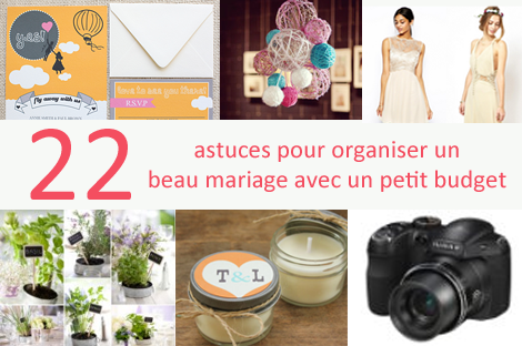 Organisation mariage pas cher Le mariage