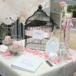 Deco table romantique mariage
