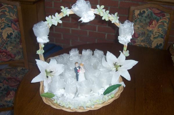 Panier A Fleur Mariage Pas Cher : Panier d?cor? pour mariage le