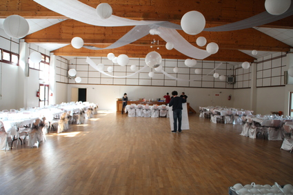 D coration salle mariage plafond le mariage - Decoration plafond salle mariage ...