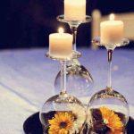 Décoration centre de table mariage