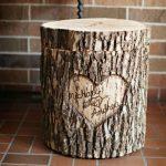 Urne de mariage en bois