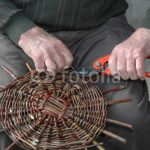 Fabrication panier en osier