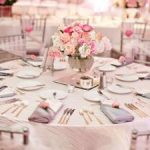 Deco mariage blanc et rose
