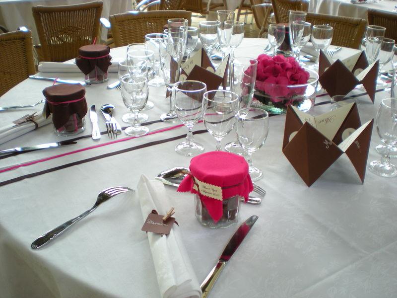 Idees Decoration Fiancailles : Deco pour table le mariage