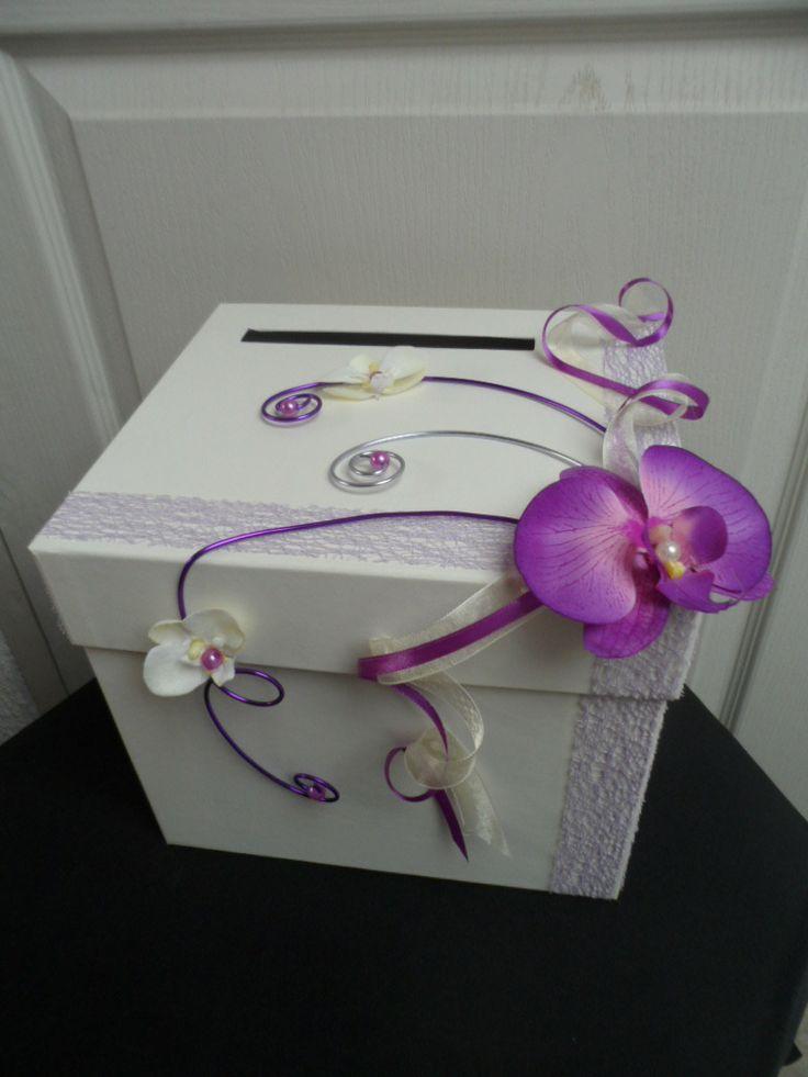 Célèbre Urne mariage violet - Le mariage XI69