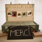 Urne valise mariage