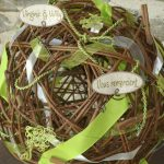 Urne pour mariage theme nature