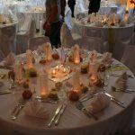 Decoration doree pour mariage